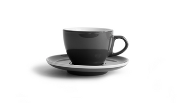 Created Co Curve Cappuccino Mug Set (Case of 6) (Cool Grey)