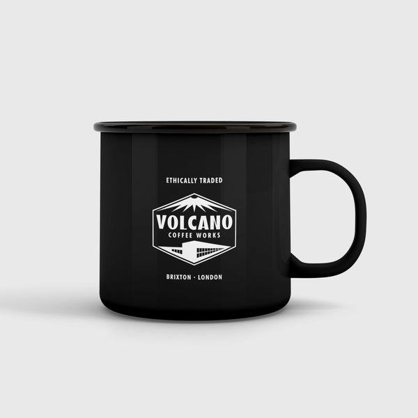 Volcano Coffee Works Volcano Enamel Coffee Mug