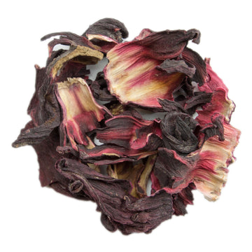 PekoeTea Edinburgh Hibiscus Flowers Loose Leaf Herbal Tea