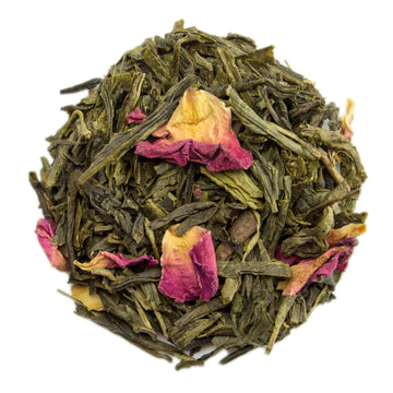 PekoeTea Edinburgh Cherry Sencha Loose Leaf Green Tea