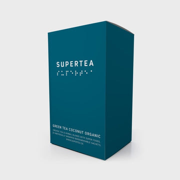 Tea Ministry Green Tea Coconut Organic Supertea