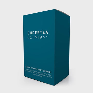 Tea Ministry Green Organic Supertea Selection