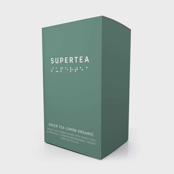 Tea Ministry Green Tea Lemon Organic Supertea