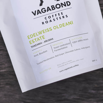 Vagabond Tanzania Edelweiss Oldeani Estate Coffee