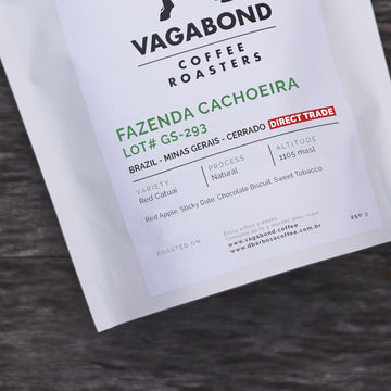 Vagabond Direct Trade Brazil Fazenda Cachoeira Coffee