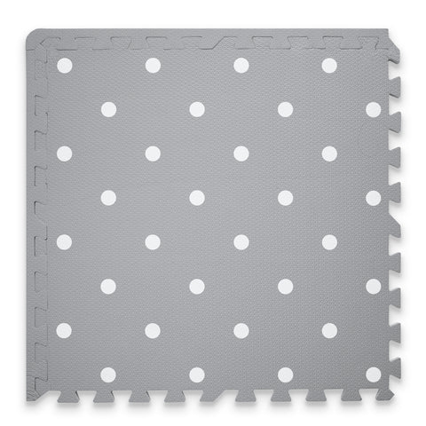 Circle Playmat Set in Grey