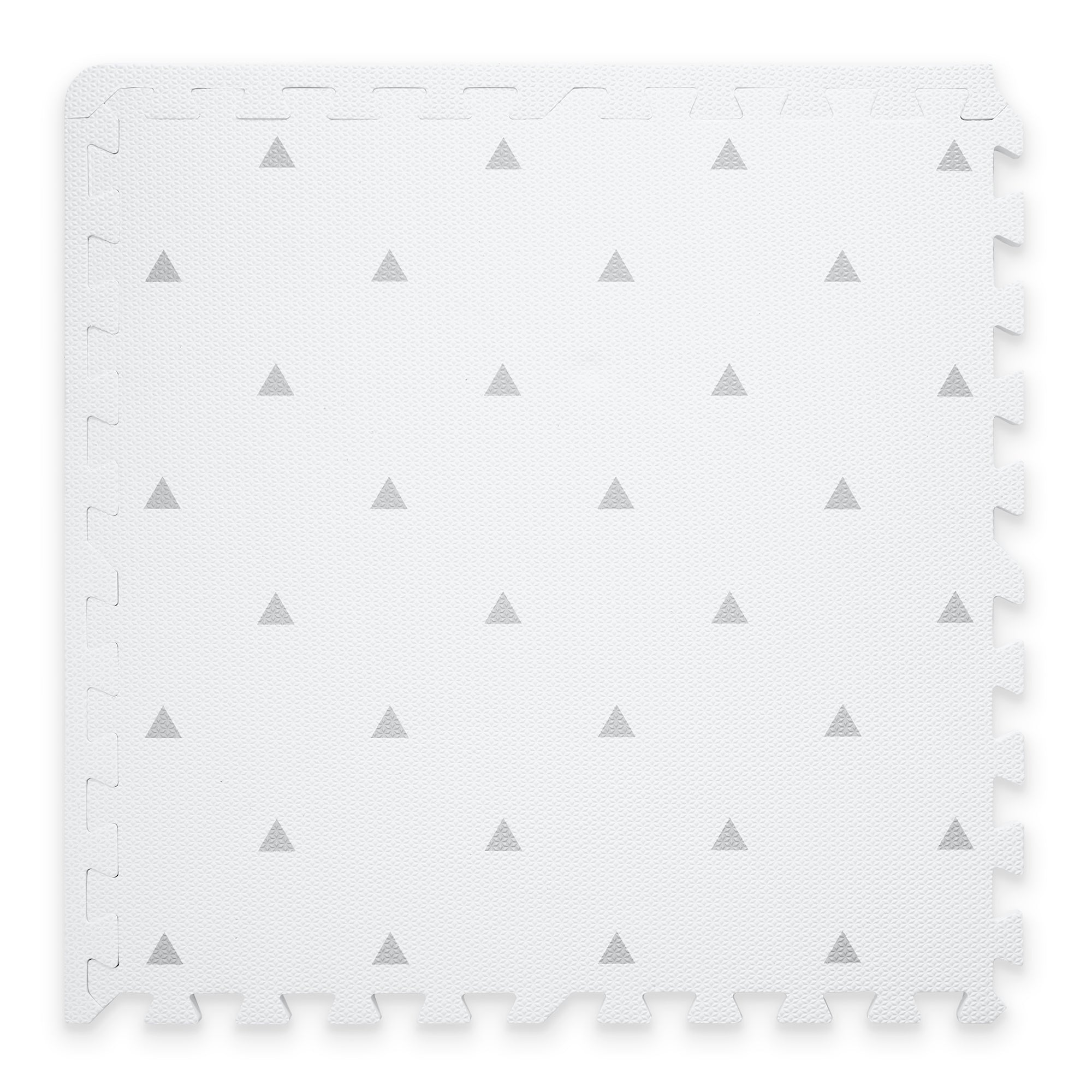 OUTLET Triangle Playmat Set in White