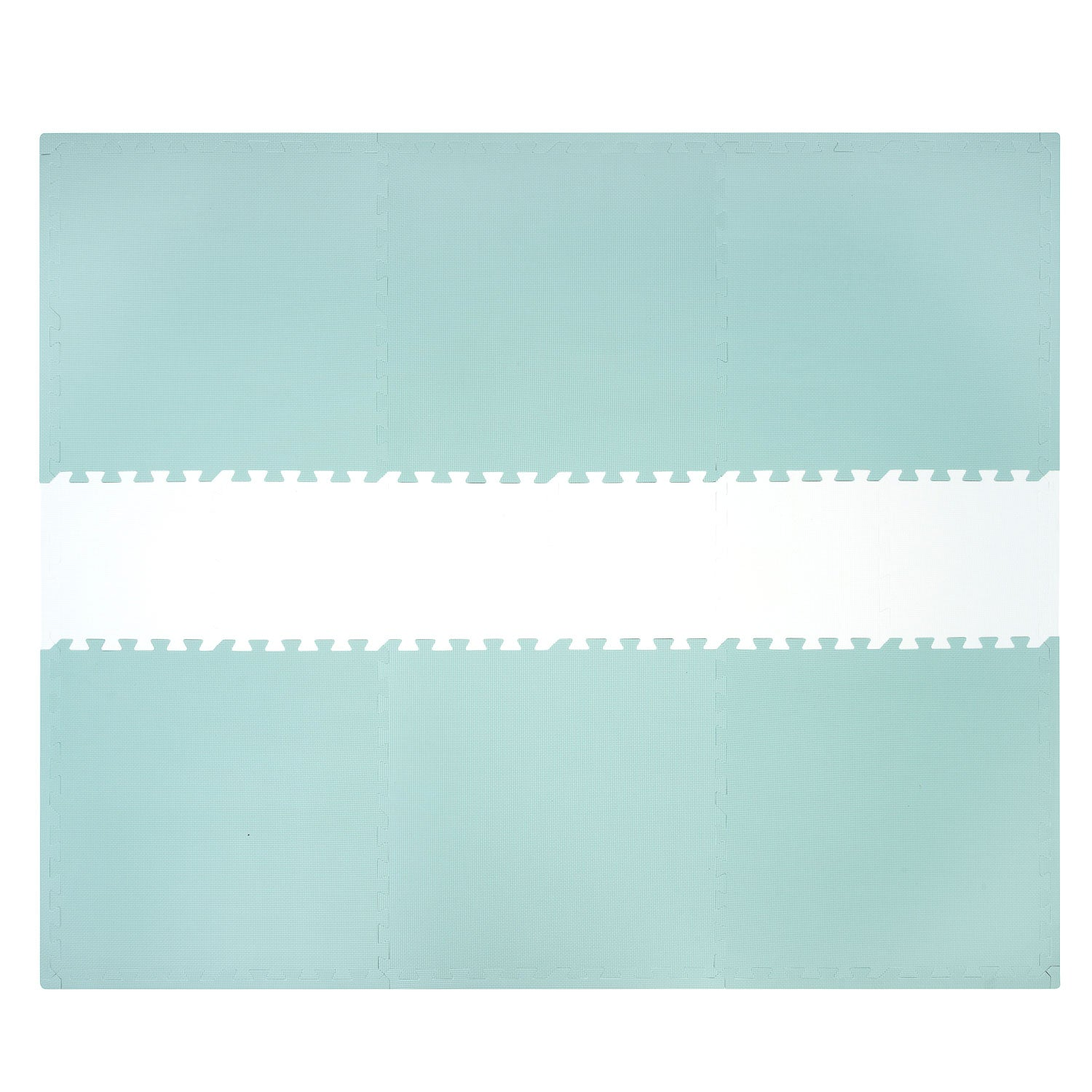 NEW Sea Green and White Playmat Set