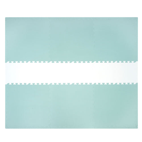 Sea Green and White Playmat Set