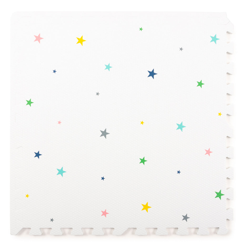 Star Playmat Set in White Multicolour
