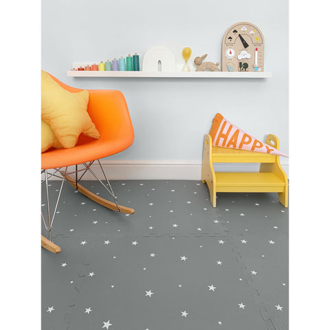 Star Playmat Set in Grey