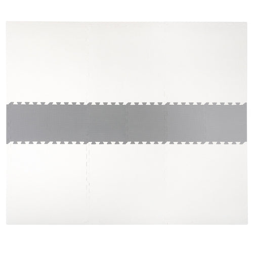 White and Grey Playmat Set