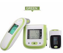 Load image into Gallery viewer, Blood Pressure Monitor + Infrared Ear Thermometer - Health Pack