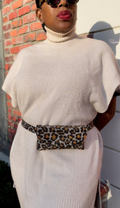 CHEETAH BLING WAIST BELT