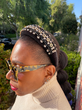 Load image into Gallery viewer, BLACK EMPRESS HEADBAND
