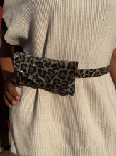 Load image into Gallery viewer, CHEETAH BLING WAIST BELT
