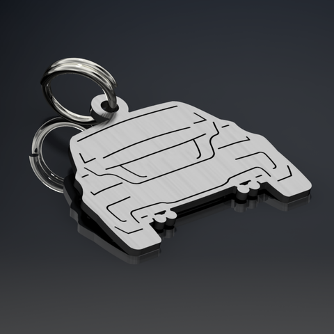 BMW 1M Coupe Keyring