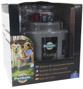 PETSAFE WIRELESS PET CONTAINMENT SYSTEM INSTANT FENCE PIF-300-21