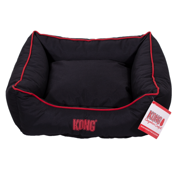Kong Lounger Beds Small, Black