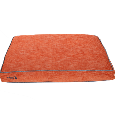 Kong Rectangle Beds Medium, Oranje met grijze lijn