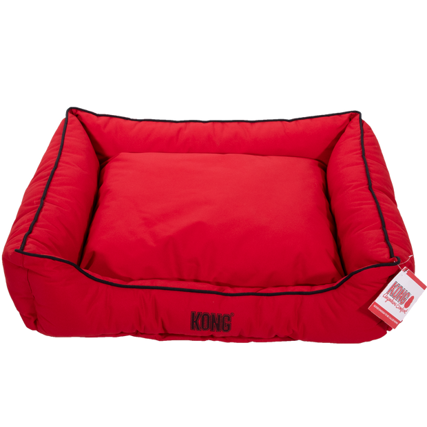 Kong Lounger Beds Large, Red