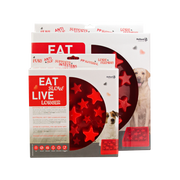 Eat Slow Live Longer Star Red S