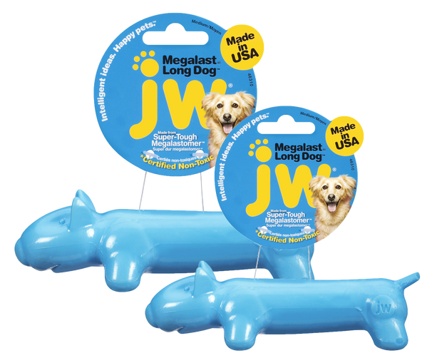 JW Megalast Long Dog Toy M 7 cm