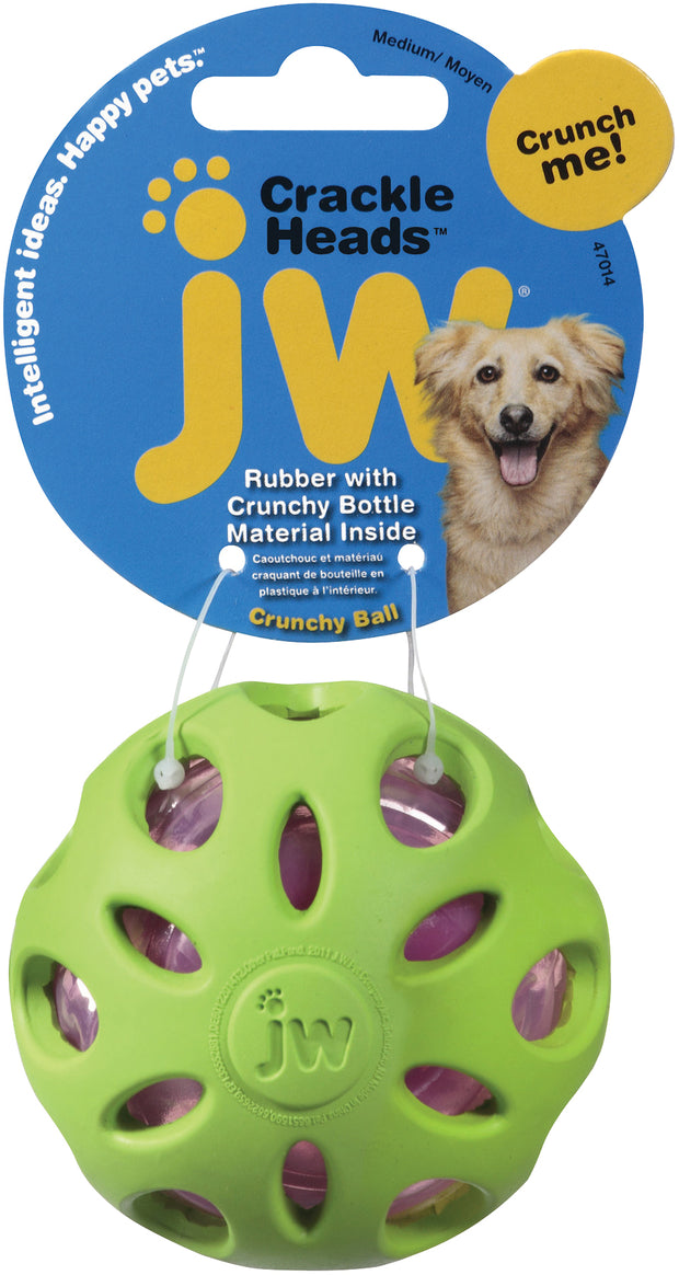 JW Crackle Head Ball S 5,5 cm