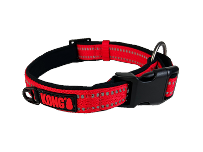 KONG Nylon Collars S Red
