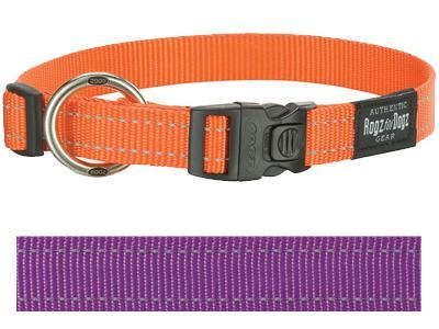 ROGZ FOR DOGS FANBELT HALSBAND PAARS 20 MMX34-56 CM