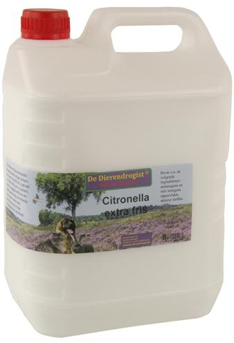 DIERENDROGIST CITRONELLA EXTRA FRIS 5 LTR