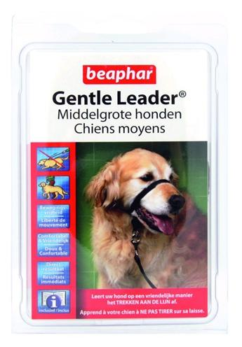 BEAPHAR GENTLE LEADER BLACK MEDIUM