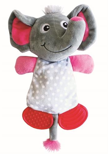 LITTLE RASCALS PLAY TEETHER OLIFANT 23X17X8 CM