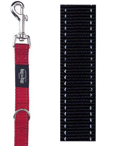 ROGZ FOR DOGS FANBELT MULTIPURPOSE LIJN ZWART 20 MMX1,6 MTR