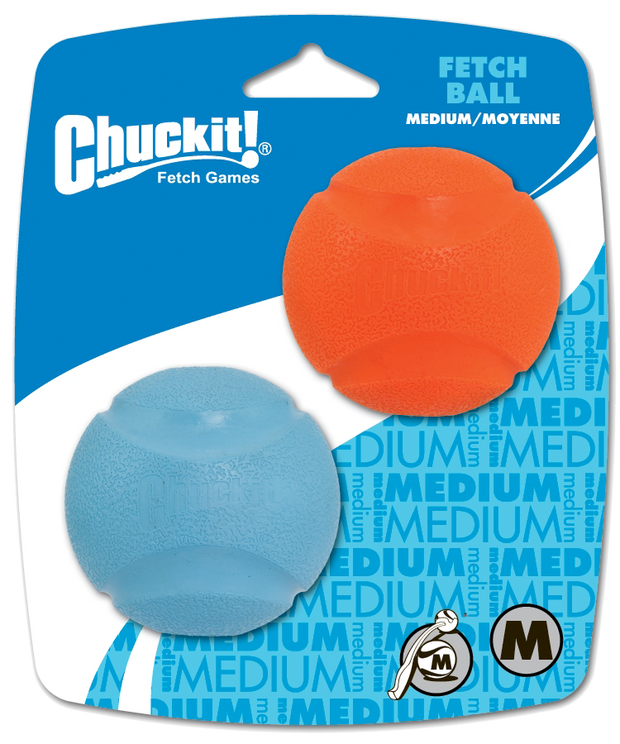 Chuckit Fetch Ball M 6 cm 2 Pack