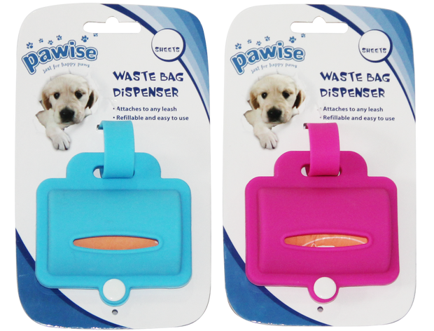 Pawise Waste Bag Dispenser Silicone (incl. 20 bags)