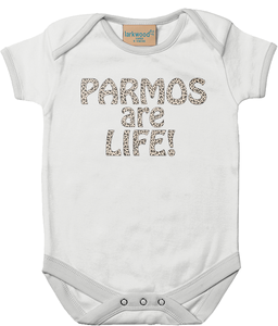 Parmos are Life Leopard Print Baby Bodysuit 100% Cotton