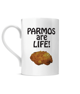Parmos are Life Porcelain Mug