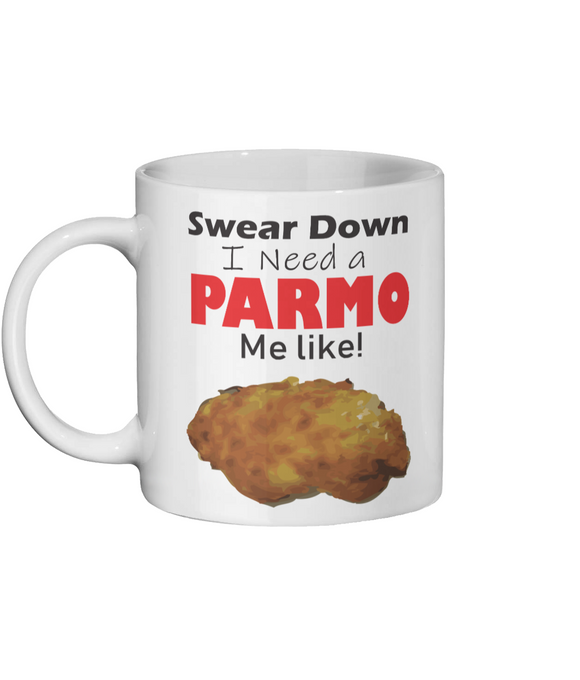 Swear Down Parmo Ceramic Mug