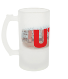 UTB Frosted Beer Glass