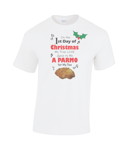 Christmas Parmo Heavy Cotton T-shirt