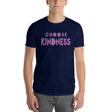 "Load image into Gallery viewer, Men's Short-Sleeve T-Shirt, ""CHOOSE KINDNESS"""