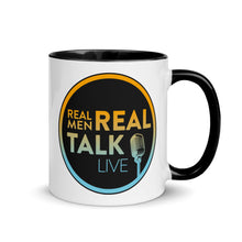 Load image into Gallery viewer, Real Men Real Talk Mug with Color Inside, 11 oz