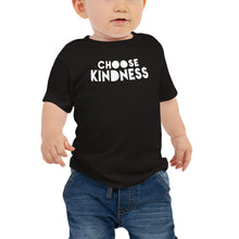 "Load image into Gallery viewer, Baby Boy's & Girl's Jersey Short Sleeve Tee 100% Cotton, ""CHOOSE HUGS"""