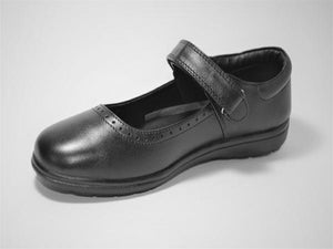 Infinity Premium Leather Mary Jane I School Shoes
