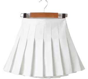 Remain Pleated Skirt - White