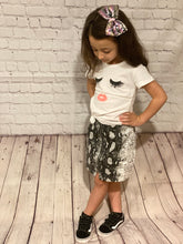 Load image into Gallery viewer, Snake Print Ssskirt - Grey