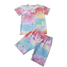 Load image into Gallery viewer, Good Vibes Tie Dye Set