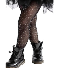 Load image into Gallery viewer, Subtle Bling Tights - Black
