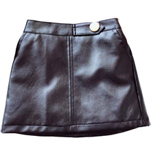 Load image into Gallery viewer, Later 'Gator Faux Leather Skirt - Multi
